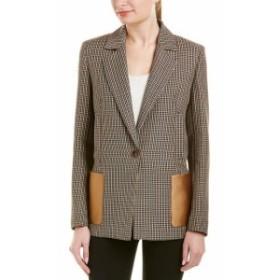 Blazer ブレザー ファッション フォーマル Escada Wool Blazer 38 Beige