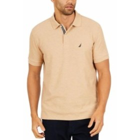 nautica ノーティカ ファッション アウター Nautica Mens Beige Size 3XL Classic Fit Performance Polo Rugby Shirt