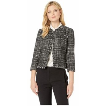 Nine West ナインウェスト 服 一般 Tweed Kiss Front Jacket