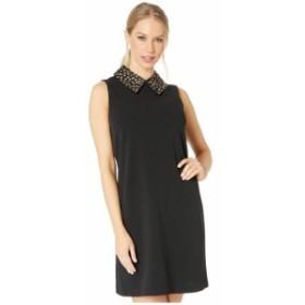 Betsey Johnson ベッツィジョンソン ドレス 一般 Scuba Crepe Shift Dress with Embellished Collar