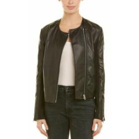 rag & bone ラグ&ボーン ファッション 衣類 Rag & Bone Harrison Leather Jacket 4 Black
