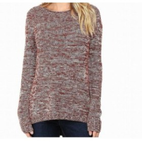 Marled  ファッション トップス Toad & Co. NEW Red Women Size Small S Marled Knit Pullover Wool Sweater