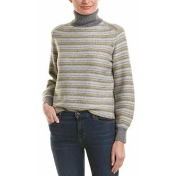 Vince ヴィンス ファッション トップス Vince Fairisle Wool & Cashmere-Blend Sweater