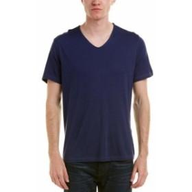 John Varvatos ジョンバルバトス ファッション トップス John Varvatos Star U.S.A . V-Neck T-Shirt S Blue