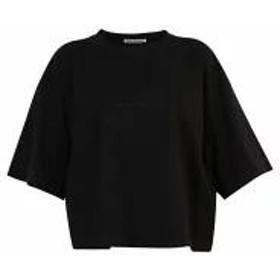 Acne Studios レディースその他 Acne Studios Logo Print Cotton T-shirt Black