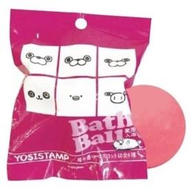 マスコットが飛び出るバスボール ヨッシースタンプ 入浴剤 LINEスタンプ 2nd ノルコーポレーション 苺の香り 子供とお風呂 グッズ