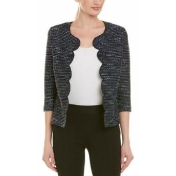 ファッション 衣類 St. John Wool-Blend Topper