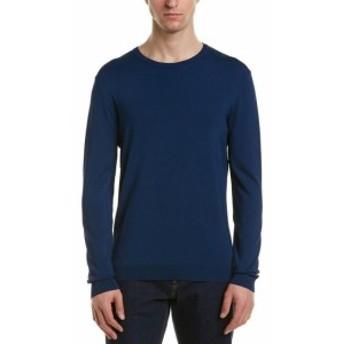 ファッション トップス Reiss Sardinia Crewneck Sweater S Blue