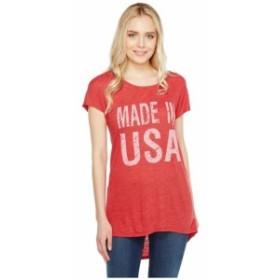 Allen Allen アレンアレン 服 一般 Made in USA Cap Sleeve Tee