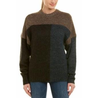 ファッション トップス Isabel Marant Daryl Mohair & Wool-Blend Sweater 40 Blue