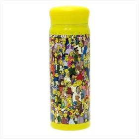 シンプソンズ ステンレスボトル オールスター 保温 保冷 水筒 キャラクター グッズ スモールプラネット 480ml ランチ雑貨 通販