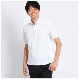 【タケオキクチ/TAKEO KIKUCHI】 ドライタッチコットン リンクスパネルポロシャツ
