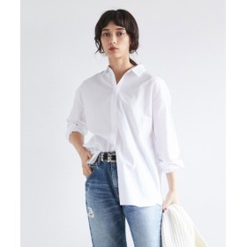 GALLARDAGALANTE(ガリャルダガランテ) レディース ベーシックシャツ オフホワイト