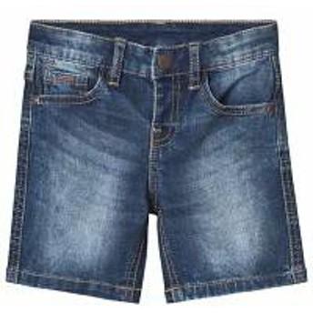 Mayoral キッズパンツ Mayoral Blue Mid Wash Stretch Denim Shorts