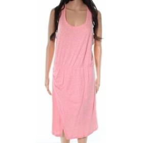ファッション ドレス CASLON NEW Pink Ruche Side Racerback Womens Size Large L Sheath Dress