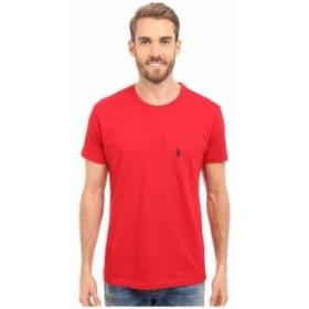 U.S. POLO ASSN. ユーエスポロアッスン 服 一般 Solid Crew Neck Pocket T-Shirt