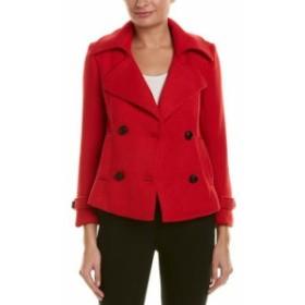 Vogue ヴォーグ ファッション 衣類 Vogue Va Wool-Blend Coat 16-18 Red
