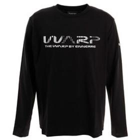 【Super Sports XEBIO & mall店:トップス】ブラインドロゴ 長袖Tシャツ WB32JB11 BLK