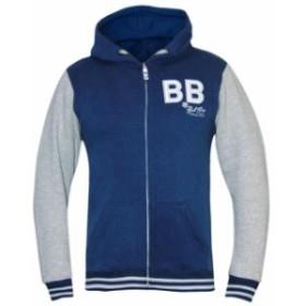 Bad Boy バッドボーイ ファッション トップス Bad Boy Kids Varsity Hoodie - Gray/Blue