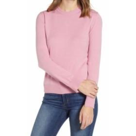 ファッション トップス Prima NEW Bubble Pink Womens Size XXL Crewneck Split-Cuff Sweater