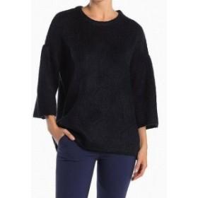 ファッション トップス Catherine Malandrino NEW Blue Knit High-Low Womens XS Crewneck Sweater