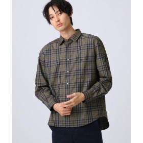 tk.TAKEO KIKUCHI(ティーケー タケオ キクチ) ポリネルチェックシャツ