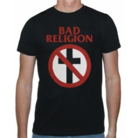 ファッション トップス Bad Religion-Classic Crossbuster-X-Large Black T-shirt