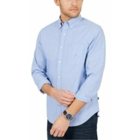 nautica ノーティカ ファッション アウター Nautica NEW Riviera Blue Mens Size XS Classic Fit Button Down Shirt