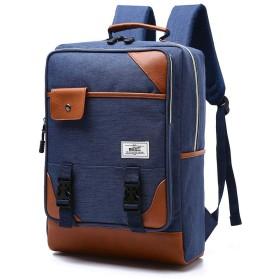 ファッションカジュアルショルダーコンピューターバックパック男性と女性の学生バッグ旅行バックパック、15.6インチのラップトップを保持できます。
