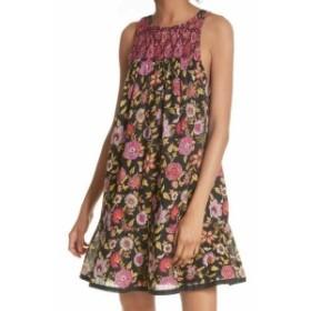 Free People フリーピープル ファッション ドレス Free People Black Womens Size Small S Floral Print Shift Dress