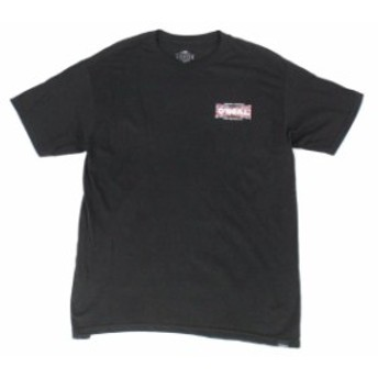 ONeill オニール ファッション トップス ONeill Mens T-Shirt Black Size Large L Modern Fit Logo Crew Graphic Tee #019