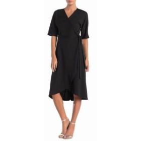 Spense  ファッション ドレス Spense Womens Dress Multi Black Size Medium M Wrap Lurex Stripe