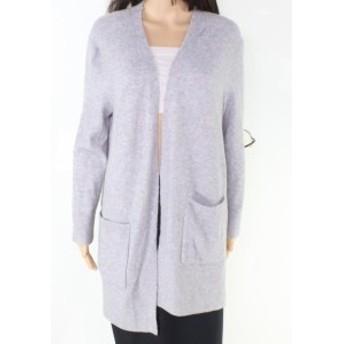 Madewell メイドウェル ファッション トップス Madewell Womens Blue Size Medium M Longline Open Cardigan Sweater
