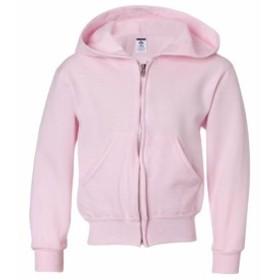 ファッション トップス Jerzees Boys Full Zip Hooded Sweatshirt 993B S-XL