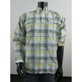columbia コロンビア ファッション アウター NWT Mens M Columbia PFG Super Bahama Long Sleeve Fishing Shirt - Sunlit Plaid
