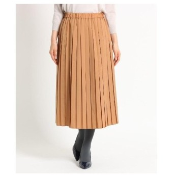 SunaUna(スーナウーナ)【洗える】ボックスプリーツミディスカート