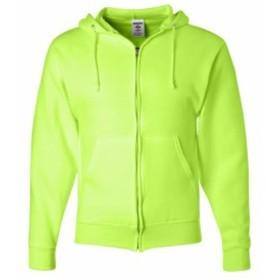 ファッション トップス Jerzees Mens 8 oz. 50/50 Fleece Full Zip Hood 993 S-3XL
