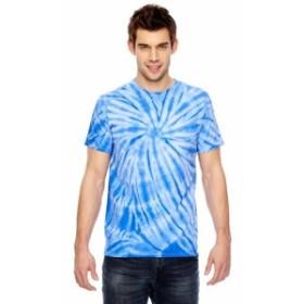 ファッション トップス Dyenomite Mens Team Tonal Cyclone Tie-Dyed T-Shirt 365CY S-3XL
