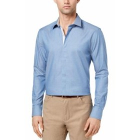 Pastel  ファッション ドレス RYAN SEACREST DISTINCTION NEW Pastel Blue Mens Size 2XL Slim Fit Shirt