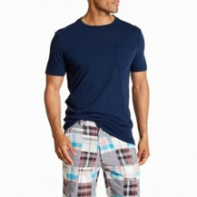 Vintage 1946 ヴィンテージ1946 ファッション トップス Vintage 1946 Mens Tee Shirt Navy Blue Size XL Short Sleeve Crewneck