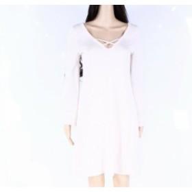 ファッション ドレス Go Couture Womens Dress White Ivory Size Small S Sweater Knit Stretch