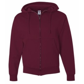Super スーパー ファッション トップス Jerzees Mens 9.5 oz. 50/50 Super Sweats Fleece Full Zip Hood 4999 M-3XL