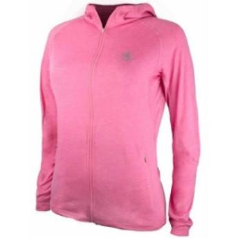 ファッション トップス Bad Girl Training Zip Up Hoodie - Marl Pink