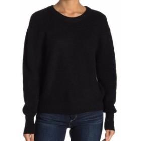ファッション トップス Elodie Womens Deep Black Size Medium M Crewneck Pullover Sweater