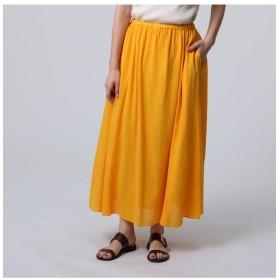【ジェット/JET】 【洗える】ウエストゴムコットンフレアスカート