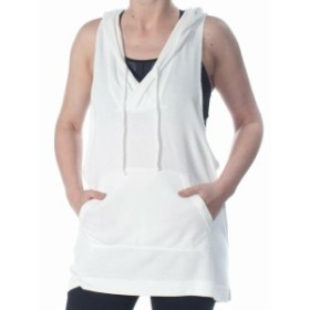 Free People フリーピープル ファッション トップス Free People NEW White Ivory Womens Size XS Hooded Sleeveless Top