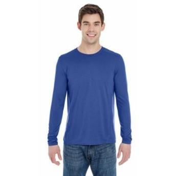 Gildan ギルダン ファッション トップス Gildan Mens Tech Long-Sleeve T-Shirt 2 Pack G474 All Sizes