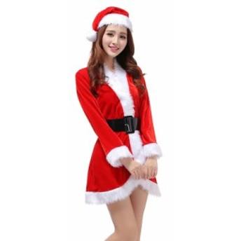 サンタ コスプレ クリスマス サンタ服 レディース サンタ衣装 Santa パーティ 女性用 制服 コスプレ サンタウェア 可愛い サンタクロース