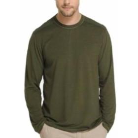 ファッション トップス G.H.Bass & Co. Mens T-Shirt Green Size Small S Crewneck Stretch Tee