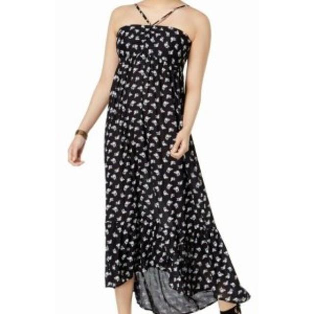 William Rast ウィリアムラスト ファッション ドレス William Rast NEW Black Womens Size Small S Floral Print Maxi Dress